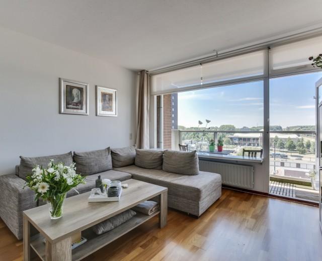 Appartement met uitzicht